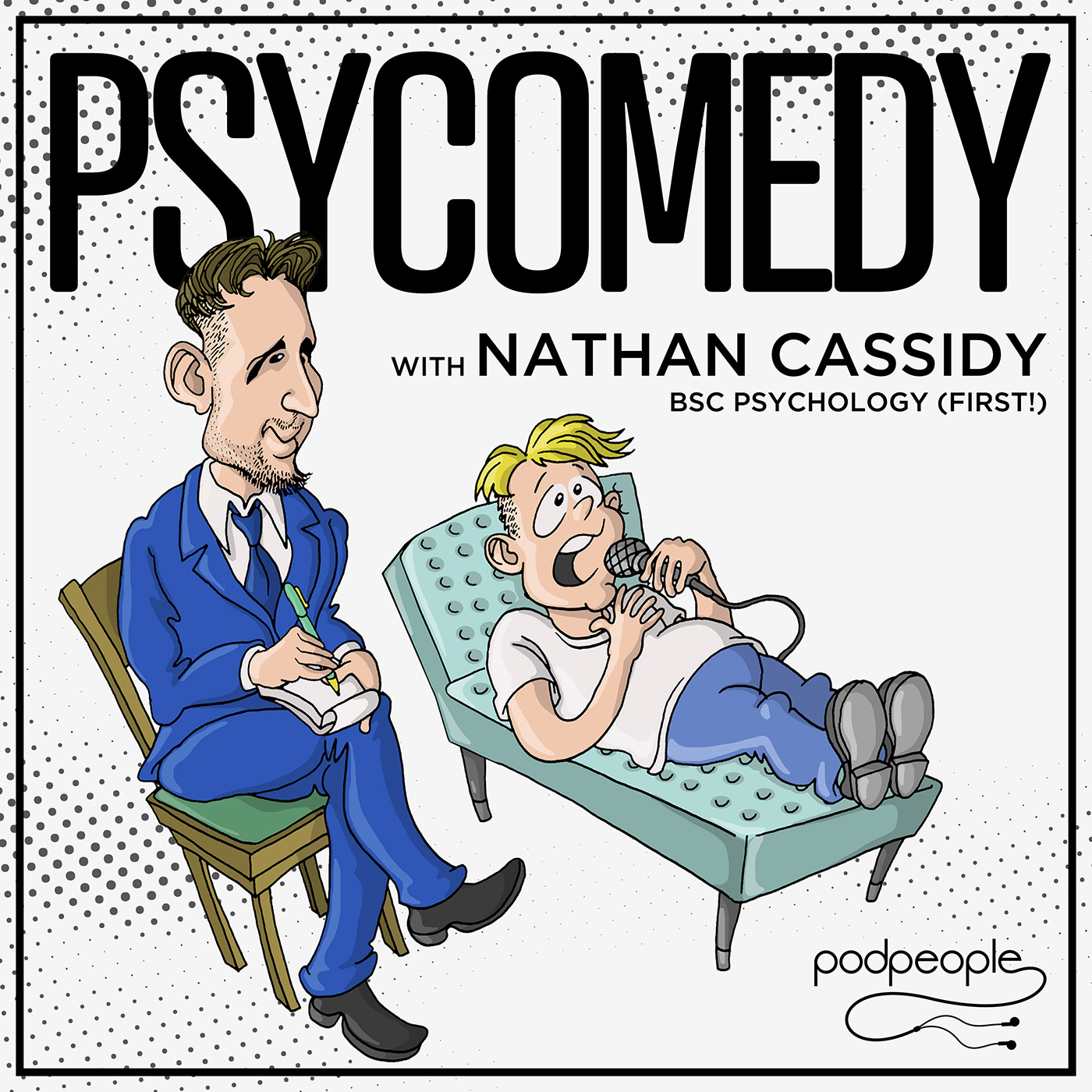 Pyscomedy with Nathan Cassidy